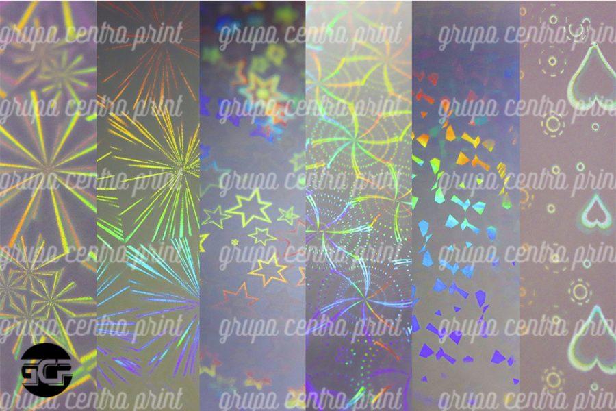Plástico Holográfico